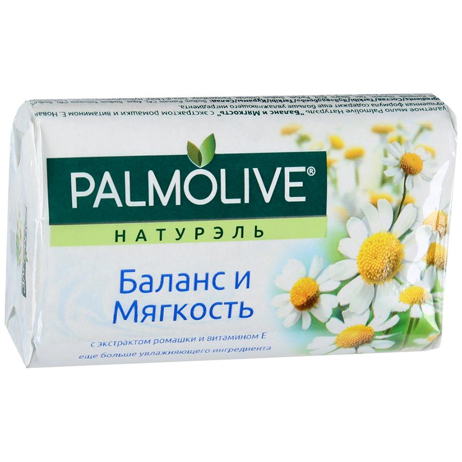 Мыло Палмолив Натурэль Баланс и Мягкость (с экстрактом ромашки и витамином Е) 90г