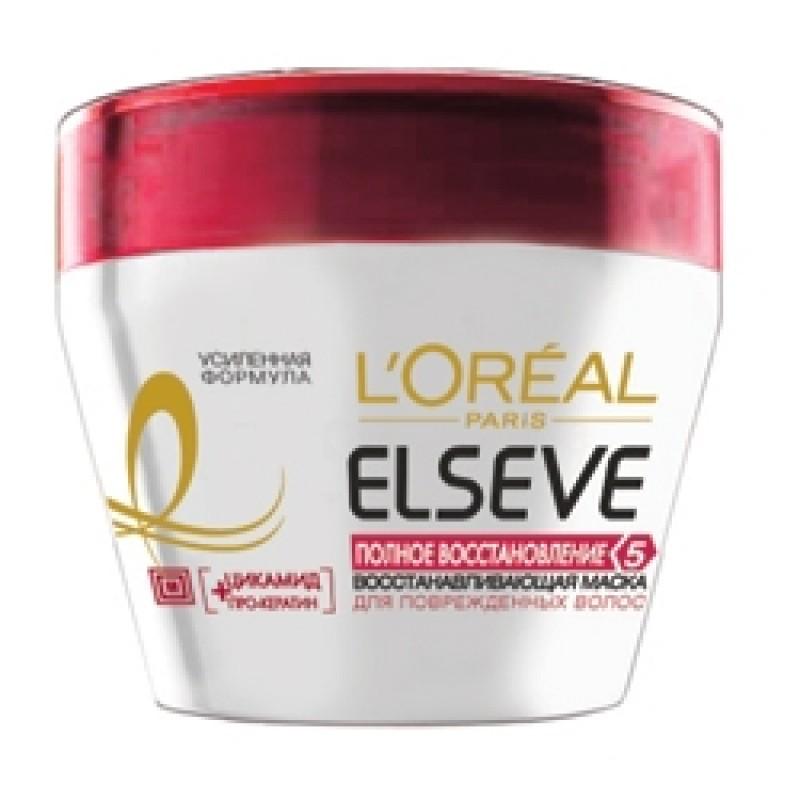 Маска Эльсев Питательная Полное восстановление 5 (Для поврежденных волос) 300 мл