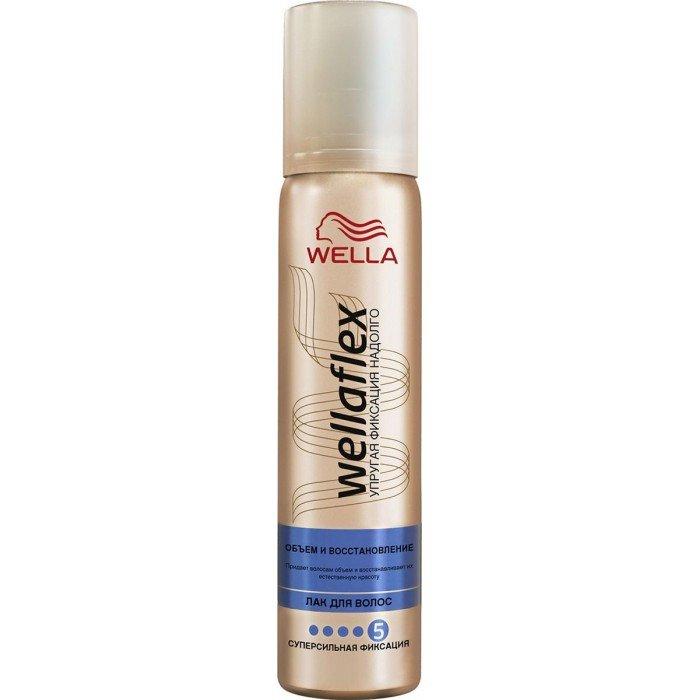 Лак для волос Веллафлекс Объем для тонких волос ССФ 75мл
