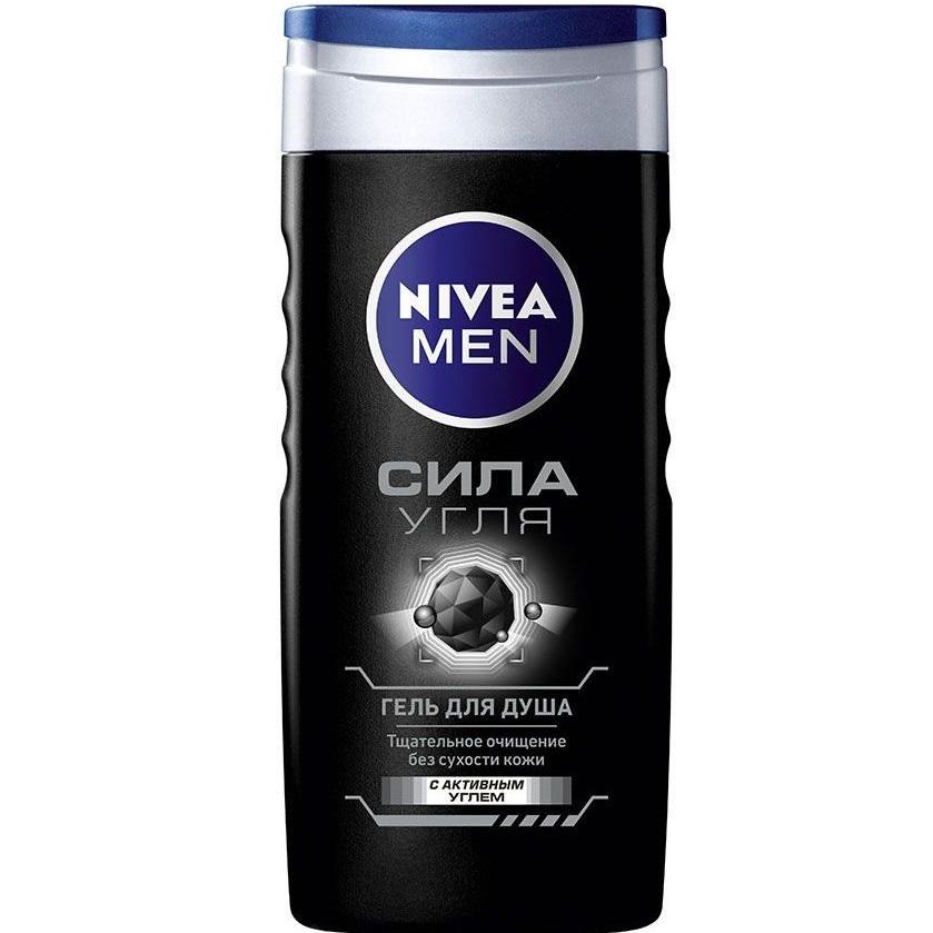 Нивея Гель для душа Сила угля 250мл