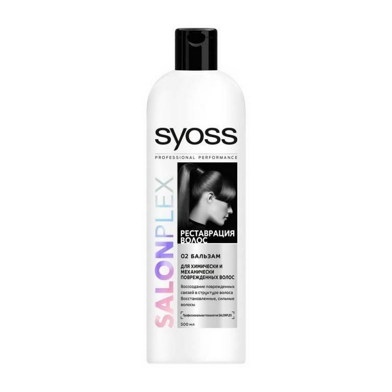 Бальзам Syoss Salonplex для поврежденных химически и механически волос  500 мл