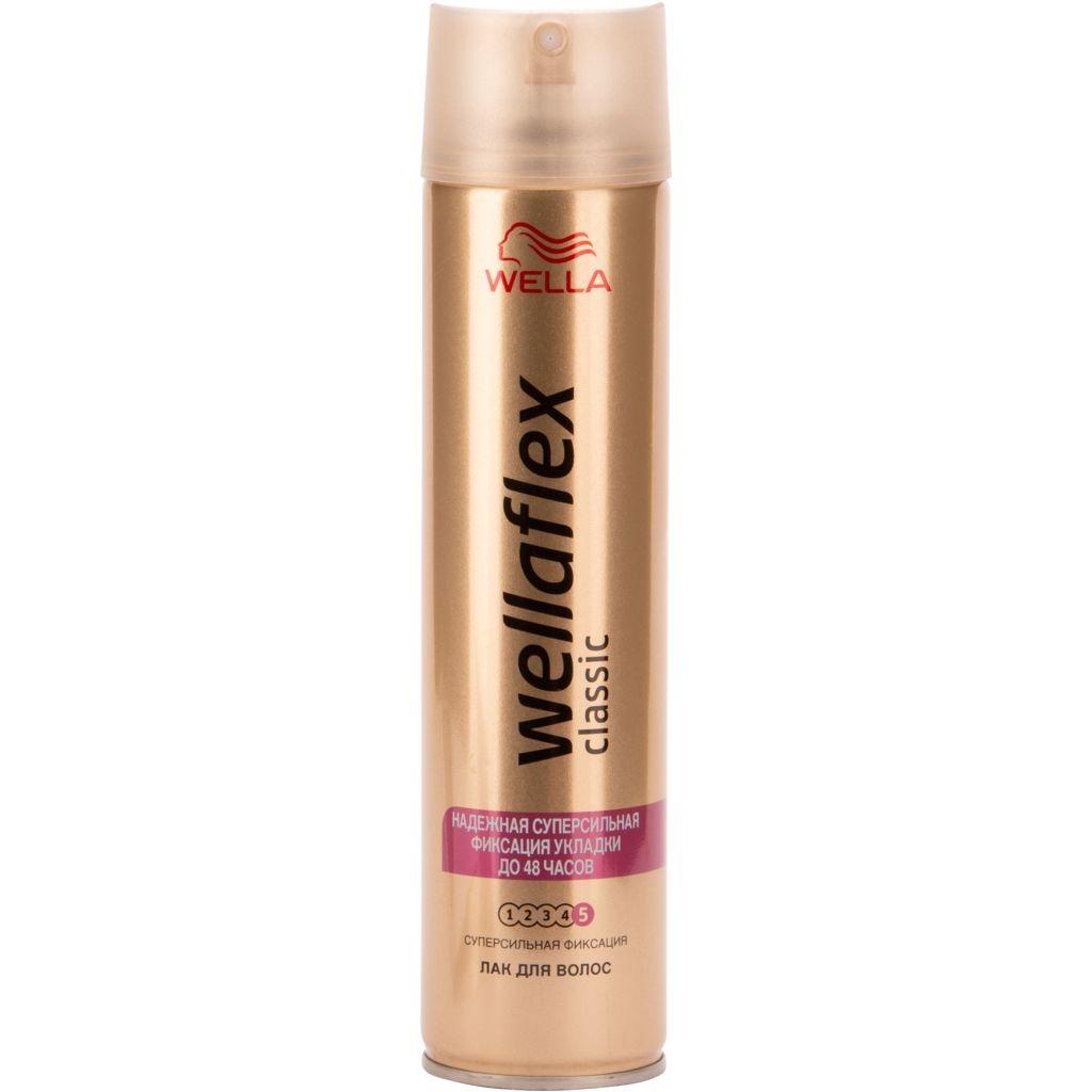 Лак для волос Веллафлекс Классик ССФ 250мл