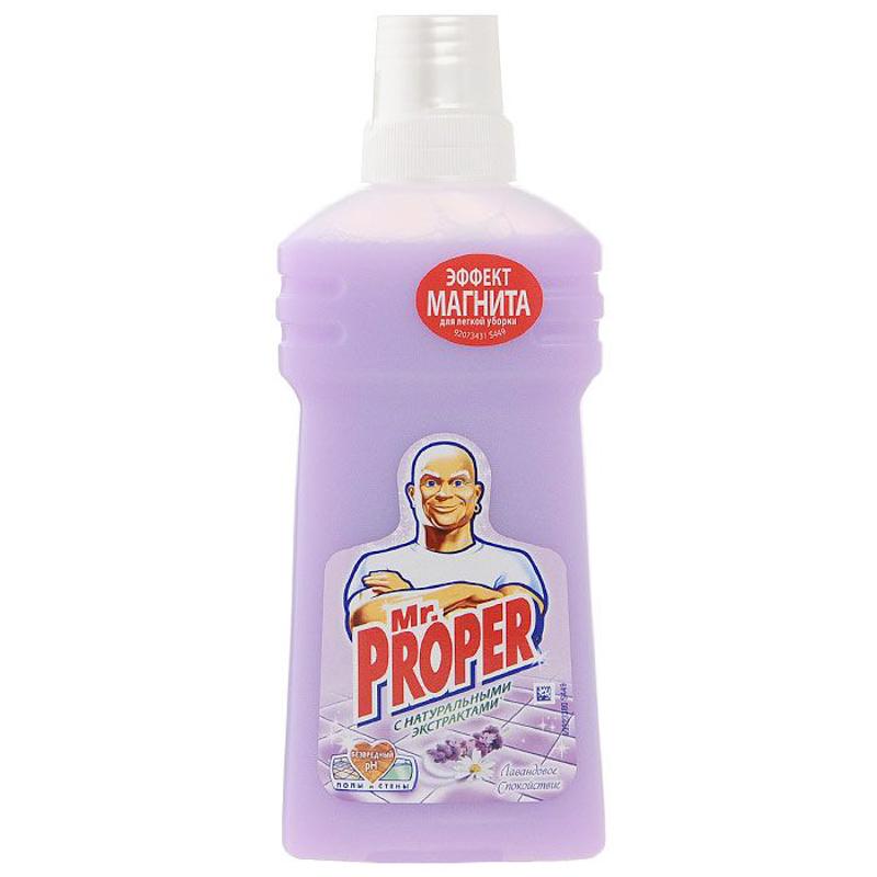 Моющее средство Мистер Пропер Лавандовое спокойствие 500мл