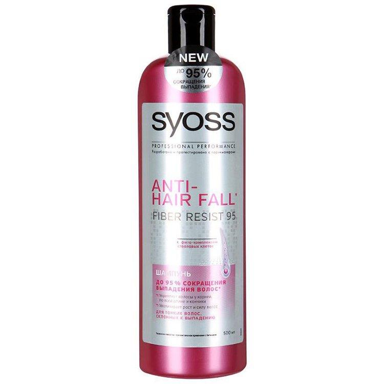 Шампунь Syoss Anti-Hair Fall для тонких волос, склонных к выпадению 500 мл