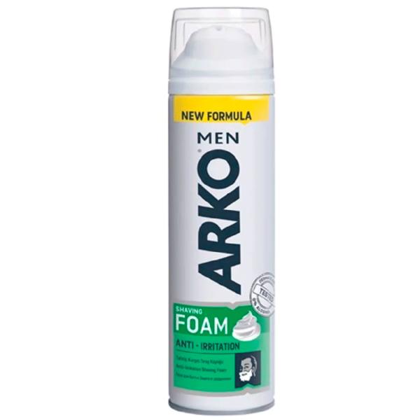 Пена для бритья АРКО Anti Irritation 200мл.
