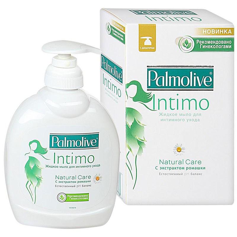 Жидкое мыло для Интимной Гигиены Палмолив Natural Care (с экстрактом ромашки) 300мл