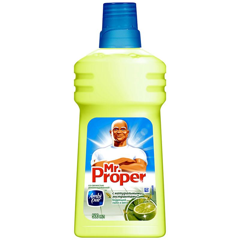 Моющее средство Мистер Пропер Лимон 500мл