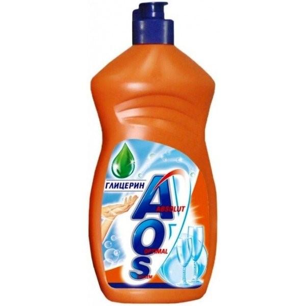 Средство для мытья посуды АОС Глицерин 450мл