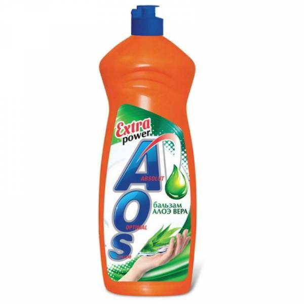 Средство для мытья посуды АОС Алоэ 900мл