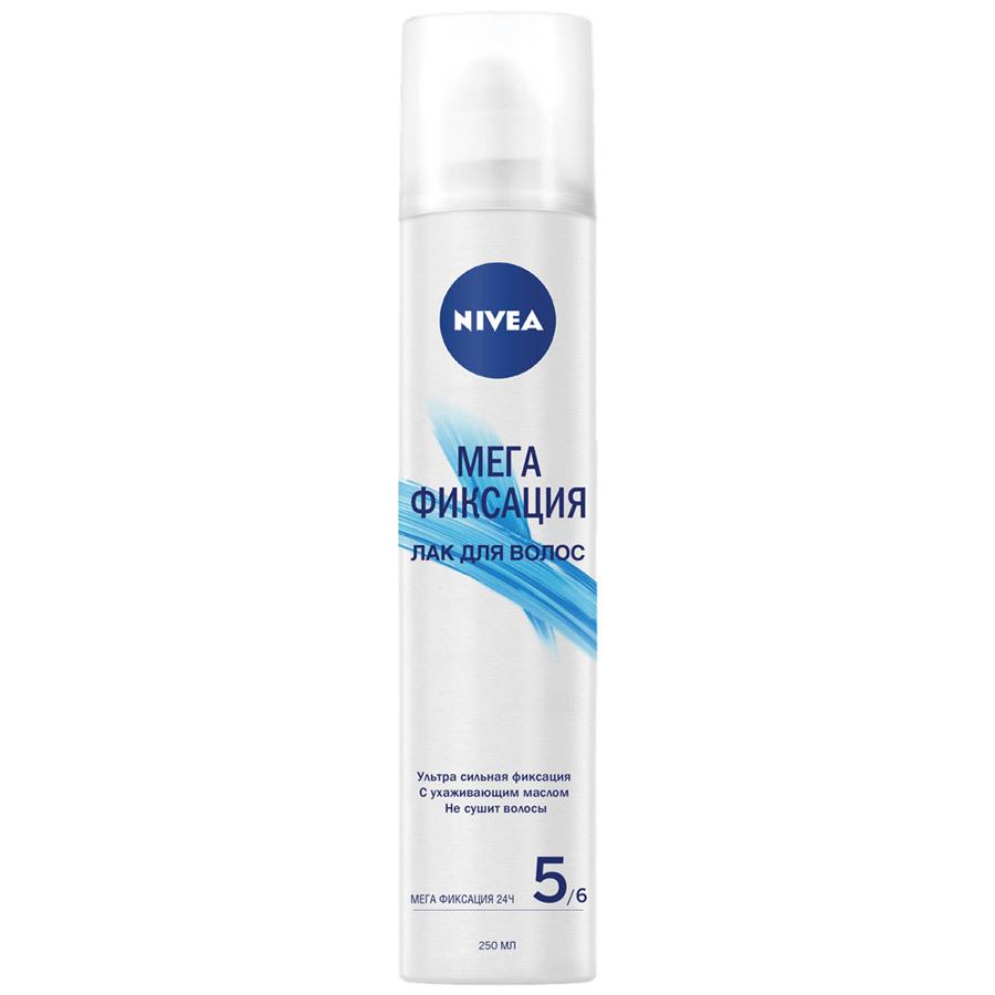 Нивея Лак для волос Мега Фиксация 250мл