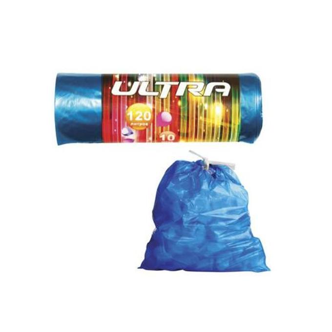 Мешки для мусора КБ Удачные в рулоне 120 л 10 шт