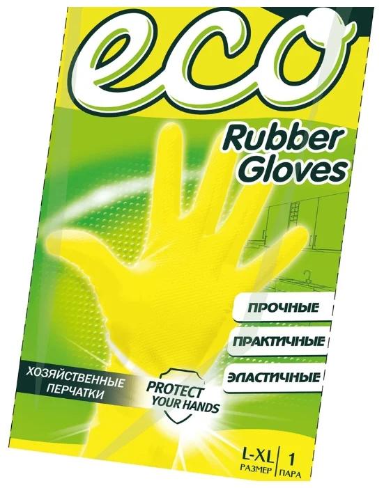 Перчатки резиновые Мастер Фреш Эко L/XL