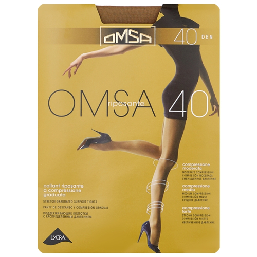 Колготки Омса OMSA 40 (С шортиками)