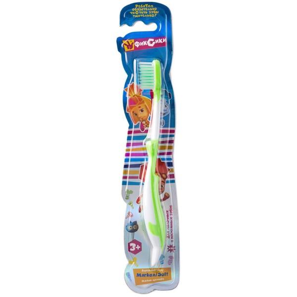 Зубная щётка Vilsen «Фиксики» Весёлый дельфин