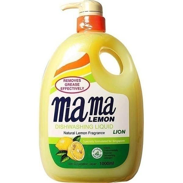 Гель для мытья посуды Mama Lemon с Лимоном 1л