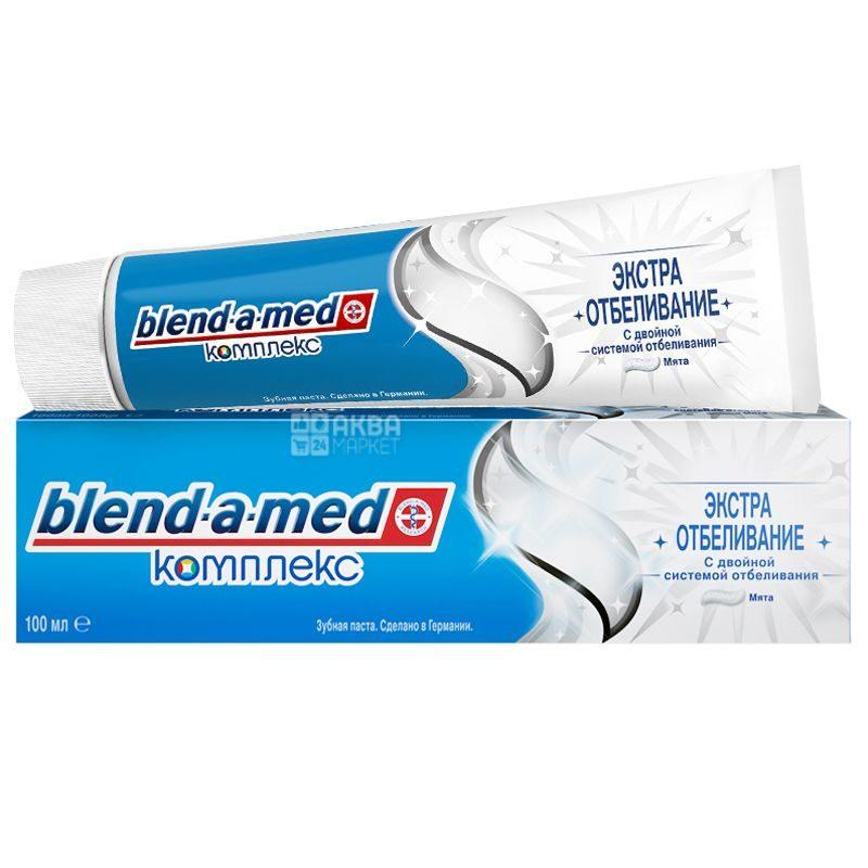 Зубная паста Blend-a-med Комплекс Экстра отбеливание Мята 100мл