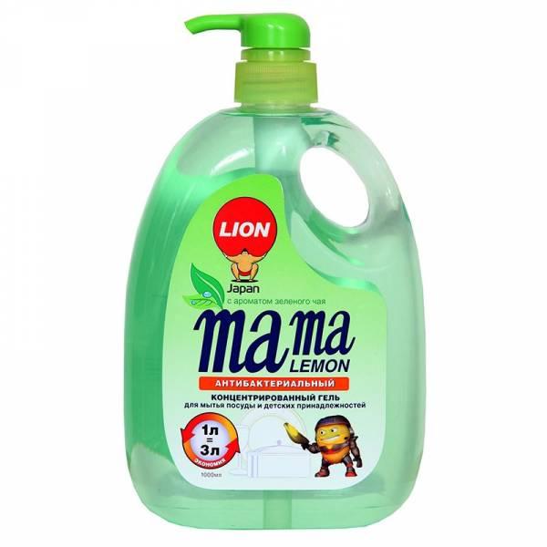 Гель для мытья посуды Mama Lemon Зелёный чай 1л