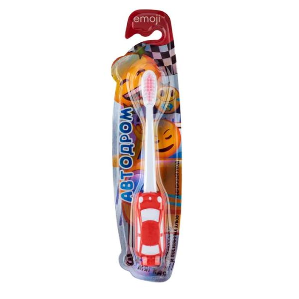 Зубная щётка Vilsen «Эмоджи» Автодром 3+