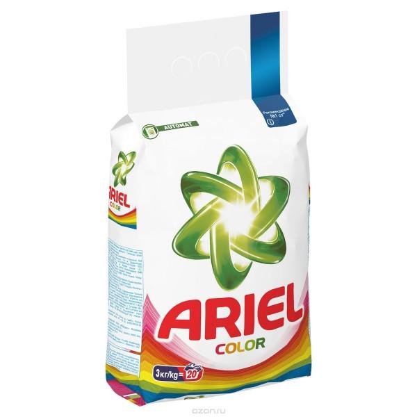 Стиральный порошок Ариэль Колор 3 кг