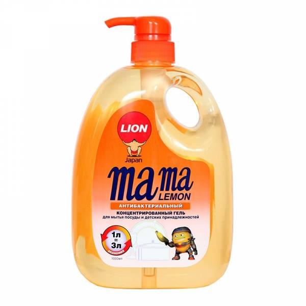 Гель для мытья посуды Mama Lemon Апельсин 1л