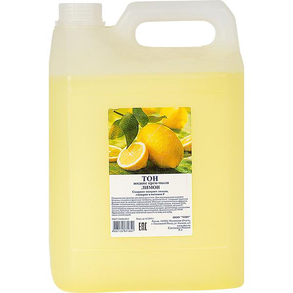 Жидкое мыло ТОН Лимон 5 л