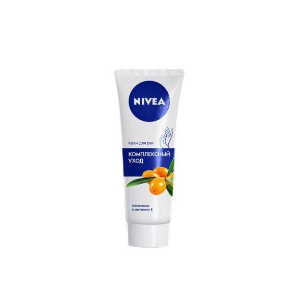 Крем для рук Нивея Комплексный уход (Облепиха и витамин Е) 75мл