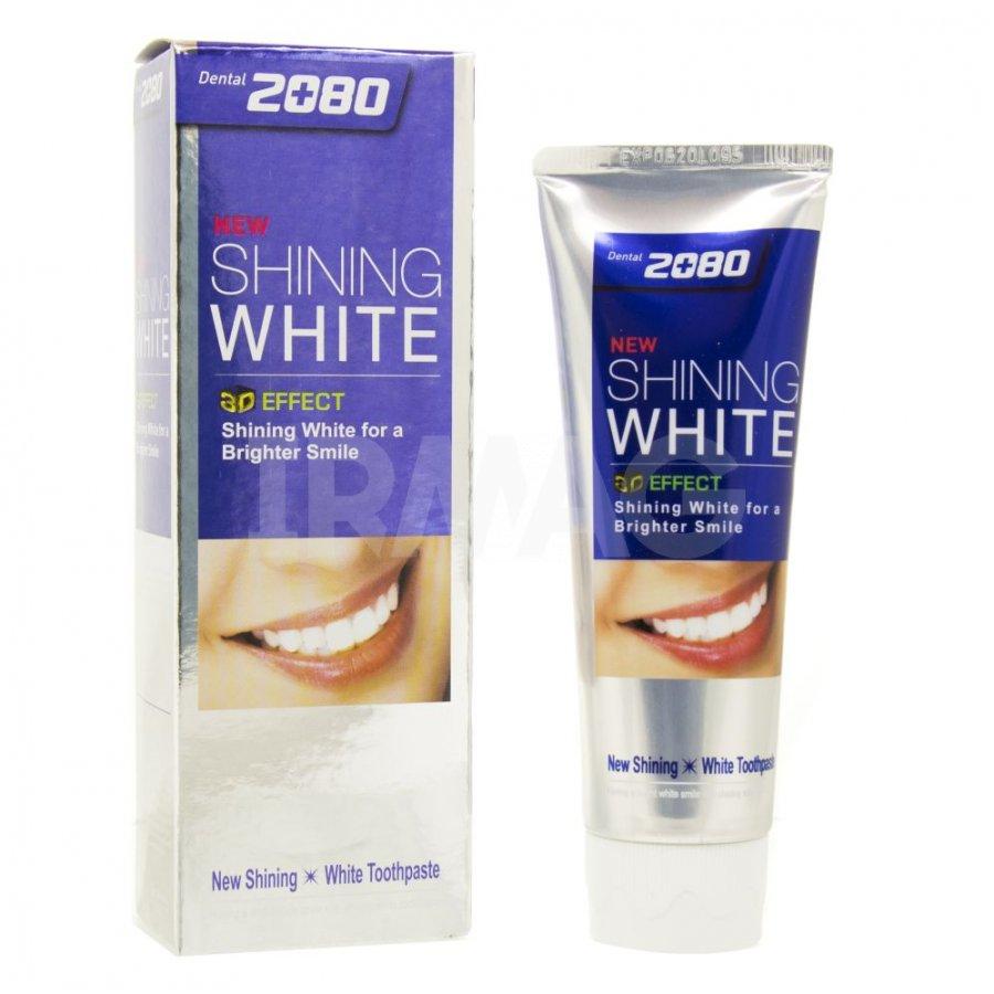 Зубная паста KeraSys 2080 Сияющая белизна Отбеливающая 100 г