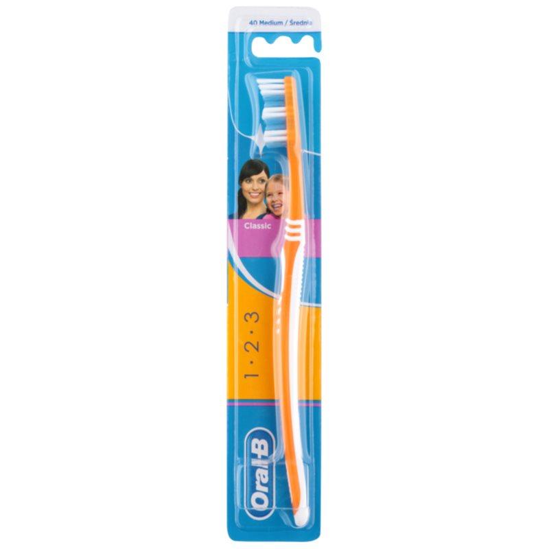 Зубная щетка Орал Би 1-2-3 Классик