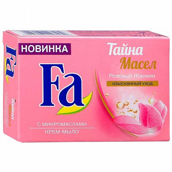 Мыло Fa Тайна масел Розовый жасмин 90 г