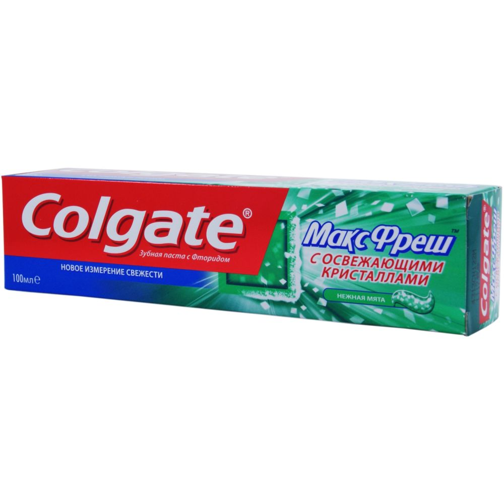 Зубная паста Колгейт Макс Фреш Нежная мята 100мл