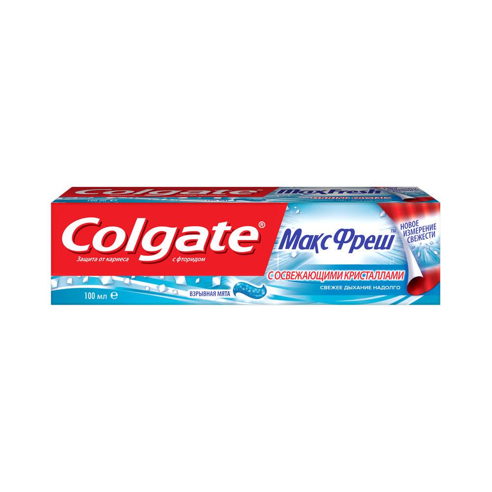 Зубная паста Колгейт Макс Фреш Взрывная Мята 100мл