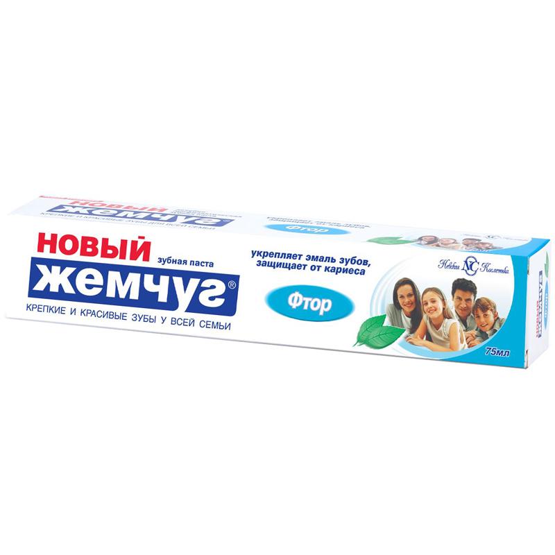 Зубная паста Новый Жемчуг Фтор 75 мл