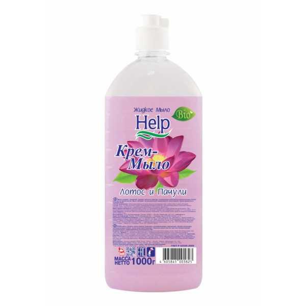 Жидкое мыло Help Лотос и Пачули 1000 мл