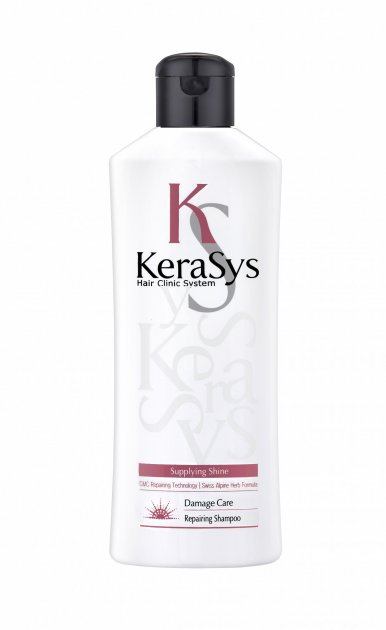 Шампунь KeraSys Восстанавливающий для поврежденных волос 180 мл