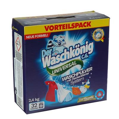 Стиральный порошок Der Waschkonig C.G. Universal 2,4 кг