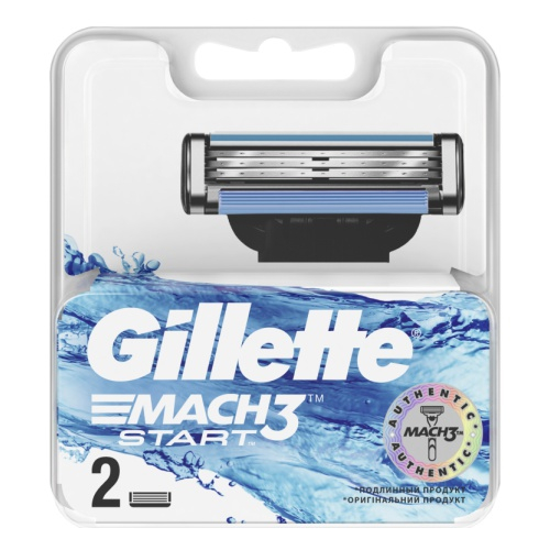 Сменные кассеты Gillette Mach3 Start 2шт