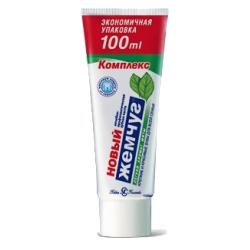 Зубная паста Новый Жемчуг Аромат легкой мяты 100 мл