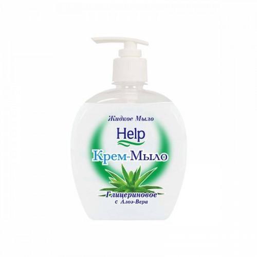Жидкое мыло Help Глицериновое с дозатором 500 мл
