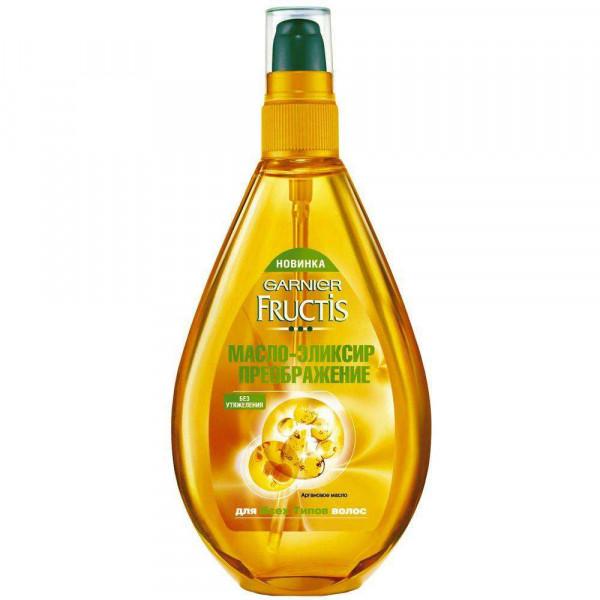 Масло-Эликсир Фруктис Преображение (3-глицерид,масла фруктов) для всех типов волос 150 мл