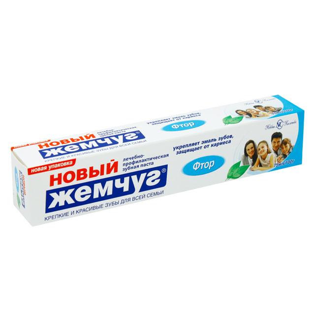 Зубная паста Новый Жемчуг Фтор 100 мл