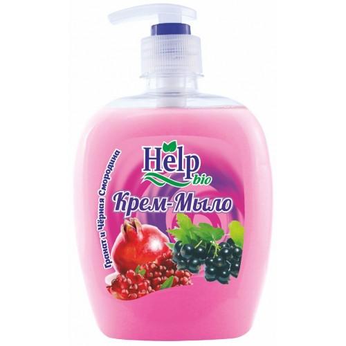 Жидкое мыло Help Гранат и чёрная смородина с дозатором 500 мл