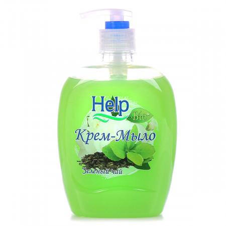 Жидкое мыло Help Зеленый Чай с дозатором 500 мл