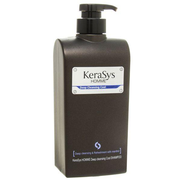 Шампунь KeraSys Мужской Лечение кожи головы для сухих волос с дозатором 550 мл
