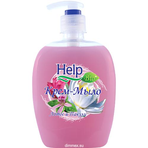 Жидкое мыло Help Лотос Пачули с дозатором 500 мл