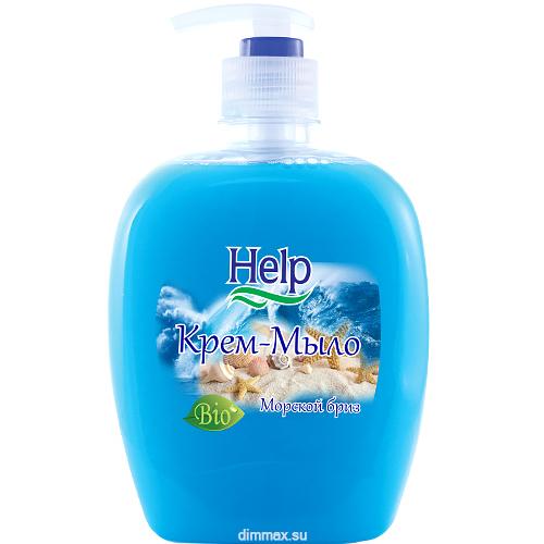 Жидкое мыло Help Морской Бриз 500 мл