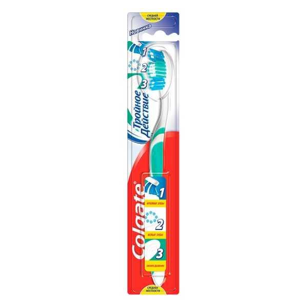 Зубная щетка Колгейт Тройное Действие