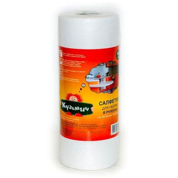 Вискозные салфетки для уборки Кузьмич 180 листов