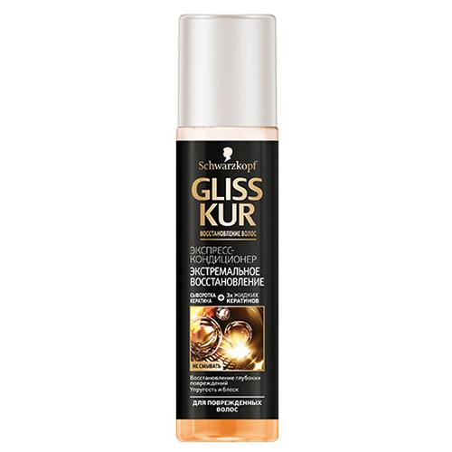 Экспресс-кондиционер Gliss Kur Экстремальное восстановление для поврежденных волос 200 мл