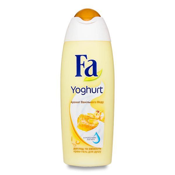 Гель для душа «ФА» YOGHURT Ванильный мед 250 мл