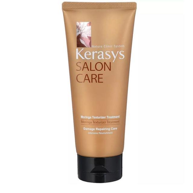 Маска KeraSys Salon Care Питание для поврежденных и сухих волос с дозатором 200 мл